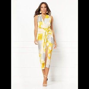 eva mendes For New York & Company Wrap Dress S